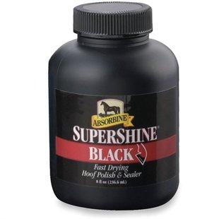 Super Shine melna nagu laka